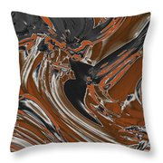 Frost And Woodsmoke  Throw Pillow
