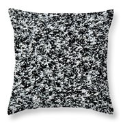 Frost Flakes On Ice - 35 Throw Pillow