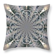 Frost Seal Throw Pillow
