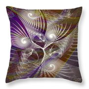 Frost Spirit - Square Version Throw Pillow