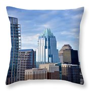 Frost Tower Iphone And Prints Throw Pillow