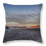 Frosted Palouse Throw Pillow