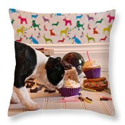 Frosting Feast Throw Pillow