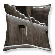 Frosting On The Clay Throw Pillow