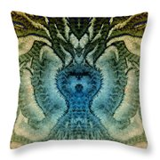 Frostroots 3 Throw Pillow