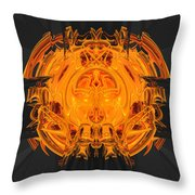 Froth Panel 15 Throw Pillow
