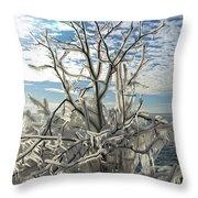 Frozen Backlight Throw Pillow