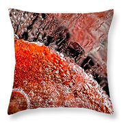 Frozen Balls Throw Pillow