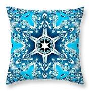 Frozen Divinity Throw Pillow