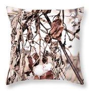 Frozen Harvest Throw Pillow