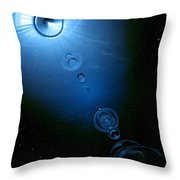 Frozen In Time And Space Throw Pillow