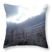 Frozen Pt2 Throw Pillow
