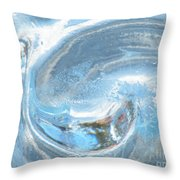 Frozen Yang  Throw Pillow