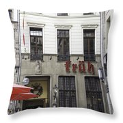 Fruh Brauhaus Cologne Germany Throw Pillow