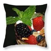 Fruit Cone Throw Pillow