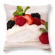 #memorial Day Weekend Pavlova Throw Pillow