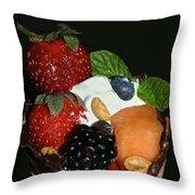 Fruit Flavor Throw Pillow