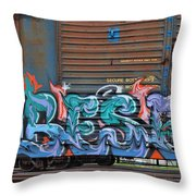 Fruit Icee Throw Pillow