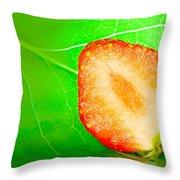 Fruit Of Rainy Summer Throw Pillow