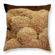 Fruit Of The Fig Jelly Plant Throw Pillow