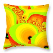 Fruit Paradise Throw Pillow