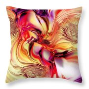 Fruit Punch Throw Pillow