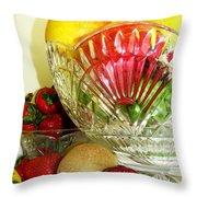Fruit Still Life 3 Throw Pillow