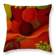 Fruit-still Life Throw Pillow