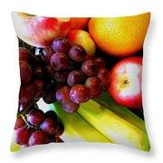 Fruit V Throw Pillow