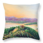 Fruitful And Prosperous Throw Pillow