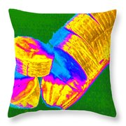 Fruitilicious - Banana - Photopower 1815 Throw Pillow
