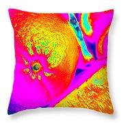 Fruitilicious - Orange - Photopower 1816 Throw Pillow