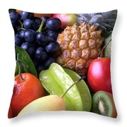 Fruits Throw Pillow