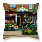 Fruits 'n' Roots 2 Throw Pillow