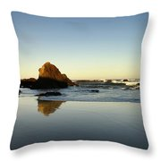 Ft. Bragg Moonset Throw Pillow