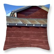 Ft Collins Barn 13550 Throw Pillow
