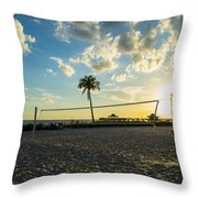 Ft. Myers Volleyball Throw Pillow