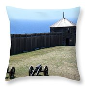 Ft. Ross State Historic Park Throw Pillow