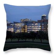 Ft. Worth Texas Skyline Throw Pillow
