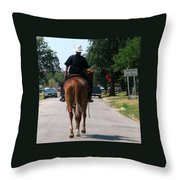 Ft Worth Texas Police Throw Pillow