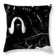 Fuck Throw Pillow