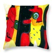 Fuego Throw Pillow