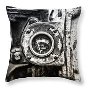 Fuel Deficient Throw Pillow