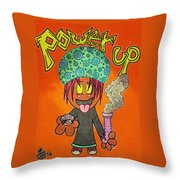 Fuel For The Fire Throw Pillow