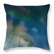 Fuel Sky Throw Pillow
