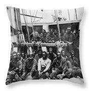 Fugitive Slaves, 1862 Throw Pillow
