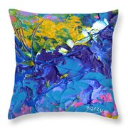 Full Bloom Throw Pillow