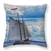 Full Boat Throw Pillow