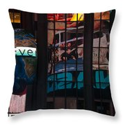 Full Color Reflections Throw Pillow