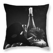 Full Ecstasy Throw Pillow by Marcio Faustino